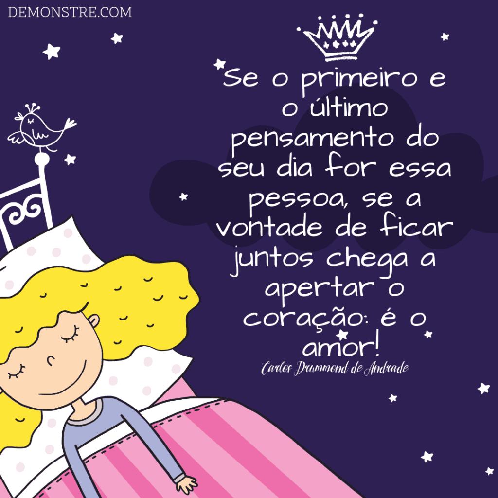 Frases para Namorados - Carlos Drummond de Andrade