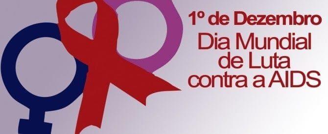 1º de dezembro - dia mundial contra a aids