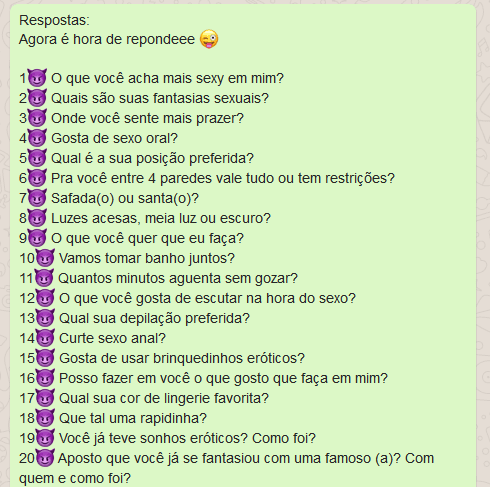 10 brincadeiras picantes - emojis 2