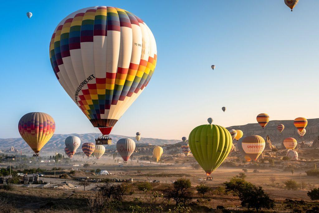 Passeio de balão – ideias para o dia dos namorados